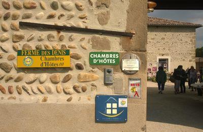 """Exposition au gîte """"la ferme des Denis"""" à Chanos-Curson"""