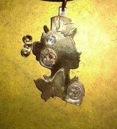 Bijoux steampunk: Pendentif époque victorienne