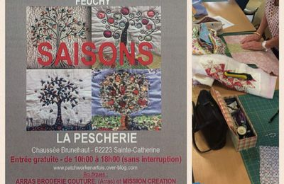 Exposition de patchwork à Sainte Catherine