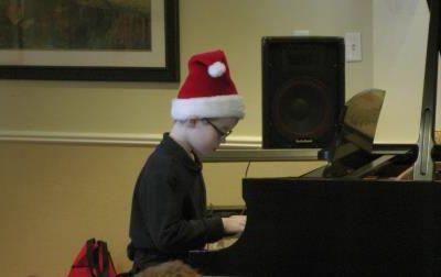 recital de piano, le petit!