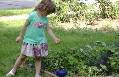 dans mon jardin, il y a un lutin