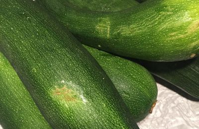 Courgettes trop grosses