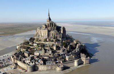 Mont Saint-Michel - randonnée dans les sables