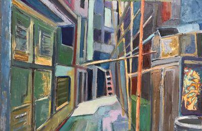 Une jeune peintre nous raconte Hong kong