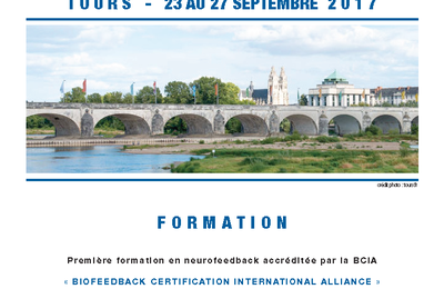 Formation en Neurofeedback - 23-27 septembre 2017 - Tours