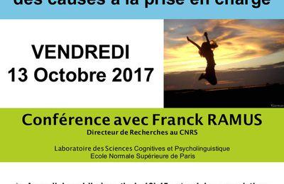 Dyslexie et autres Dys : des causes à la prise en charge - F. Ramus - 13 octobre 2017