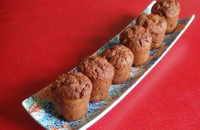 Mini muffins chocopoires