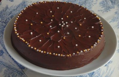 Gâteau chocolat banane