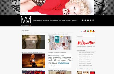 Nouveau site news-of-madonna.com