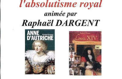 Soirée Louis XIV ou l'absolutisme royal