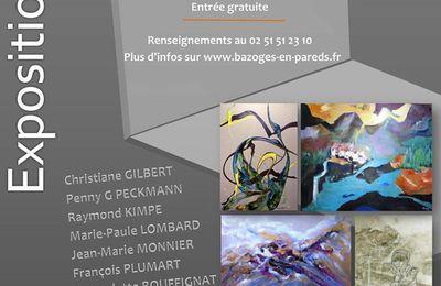 Vouvant Village de Peintres en exposition au Donjon de Bazoges en Pareds.
