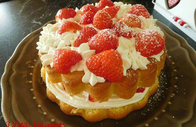 Le gâteau fête des mères