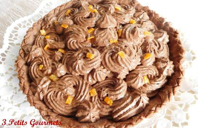Tarte choco-orange