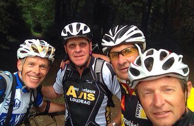 VTT en forêt de Loudeac, le retour des pionniers !
