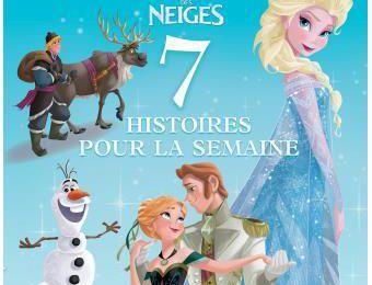 Le Coin Lecture : La Reine des neiges - 7 histoires pour le soir !