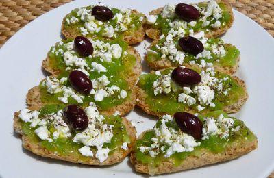 Une idée pour vos buffets d'été : les dakos ou ntakos