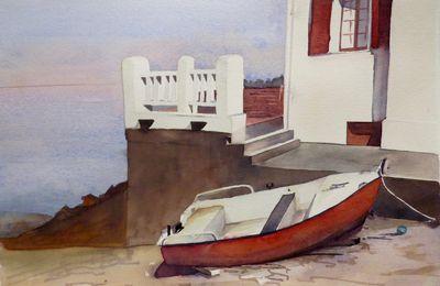 Barque à Guéthary