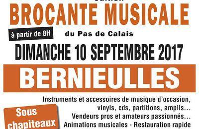 BROCANTE MUSICALE... à BERNIEULLES...le 10 SEPTEMBRE...