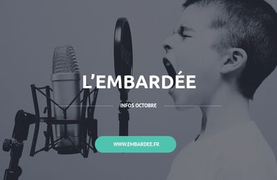 L'EMBARDEE...en OCTOBRE...