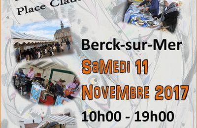 L' HARENGOISE DE BERCK... C'EST LE SAMEDI 11 NOVEMBRE...SUR LA PLACE CLAUDE WILQUIN...