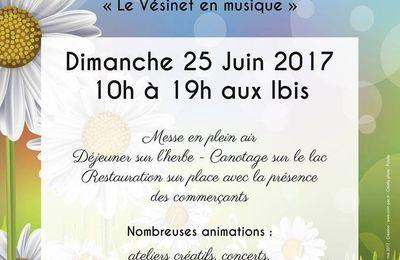 Fête de la Marguerite, dimanche 25 juin 2017 10 h à 19 h
