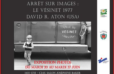 Exposition photo sur le Vésinet en 1977