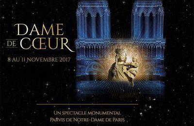 Du 8 au 11 novembre 2017, son et lumière à Notre Dame de Paris