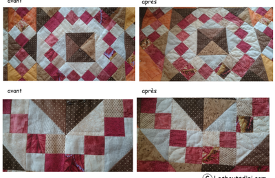 Quilt mystere...quilting et finitions