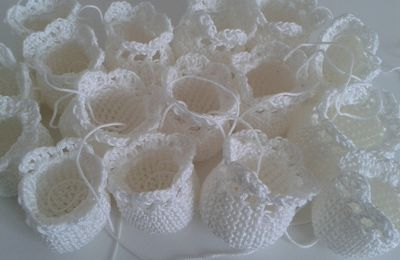 Crochet : finitions
