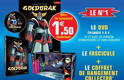 Goldorak de retour en kiosque