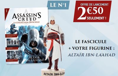 Assassin's Creed - La collection de figurines Hachette