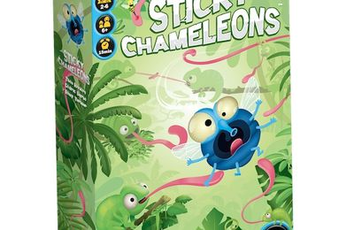 Sticky Chameleons - Le concours