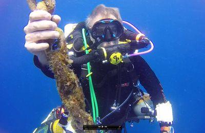 """Formation plongée tek, devenir plongeur recycleur trimix : conseils d'Yvon, de retour de la """"mission TAMAYA"""" sur l'épave mythique de Martinique"""