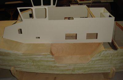 construction de la cabine