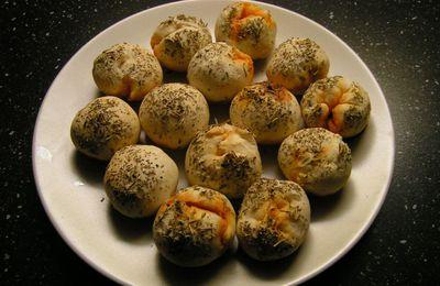 Petits pains au chorizo pour l'apéro!