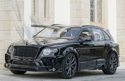 2016 Mansory - Bentley Bentayga Bodykit