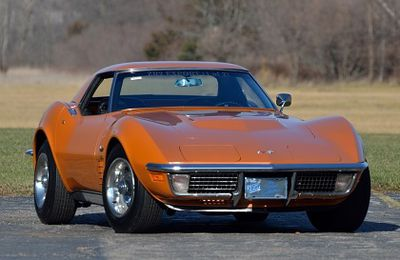 1971 Chevrolet Corvette Stingray ZR-2 LS6 454