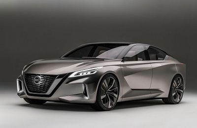 Nissan concept Vmotion 2.0 2017