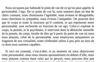Approches de la non dualité (3) - Jean Klein