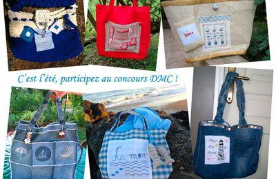 DMC : grand concours de l'été 2016 : un sac de plage !