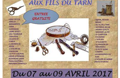 Salon des créateurs à Villemur-sur-Tarn (Haute-Garonne) : 7 au 9 avril 2017