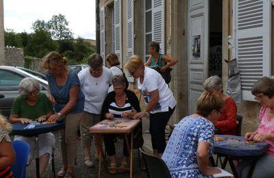 Ateliers Dentelle de Cluny samedi 22 juillet et mercredi 9 août : horaire