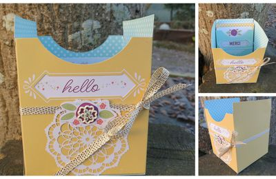 """Kit pour carte """"Jolie pochette"""""""