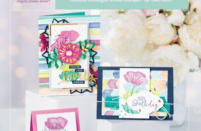 Porte ouverte nouveau catalogue Stampin Up et atelier gratuit