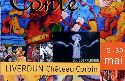 """Exposition """"Autour du Conte"""", au château Corbin de Liverdun, du 15 au 30 mai 2015"""
