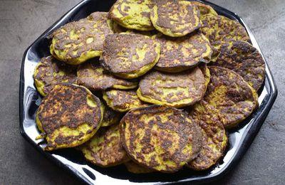 Pancakes aux courgettes (sans gluten et sans produits laitiers)