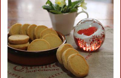 Sablés au parmesan pour la Saint Valentin