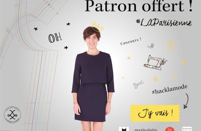 Couture : un patron La Parisienne (gratuit jusqu'au 14/02)