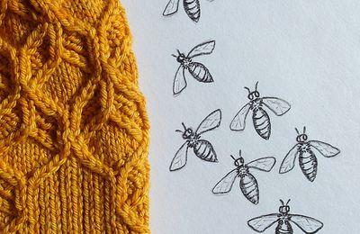 Tricot : du miel et des abeilles sur les aiguilles avec Amy Van de Laar