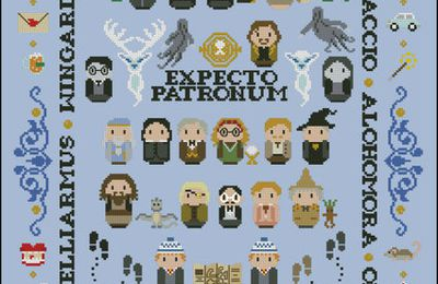 Point de croix : Harry Potter, Mary Poppins, Star Trek & Dr Who par Cloudsfactory